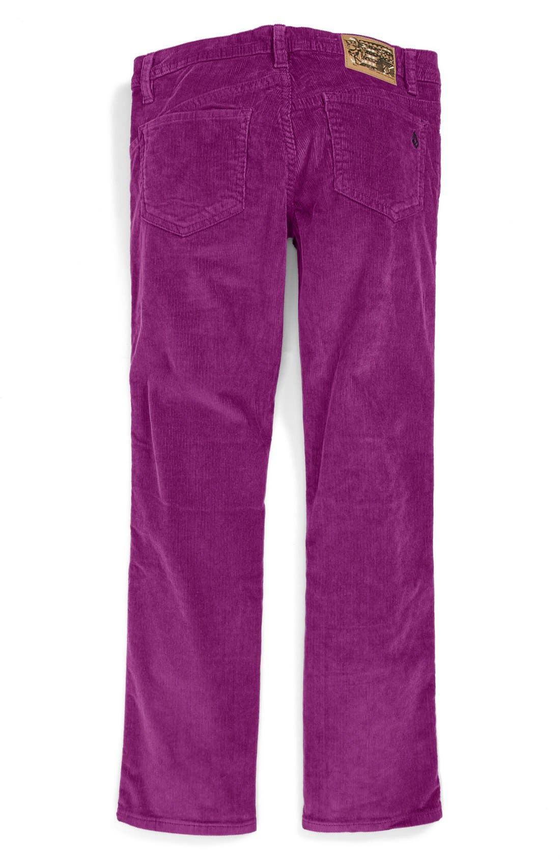 Alternate Image 2  - Volcom '2X4' Corduroy Pants (Big Boys)