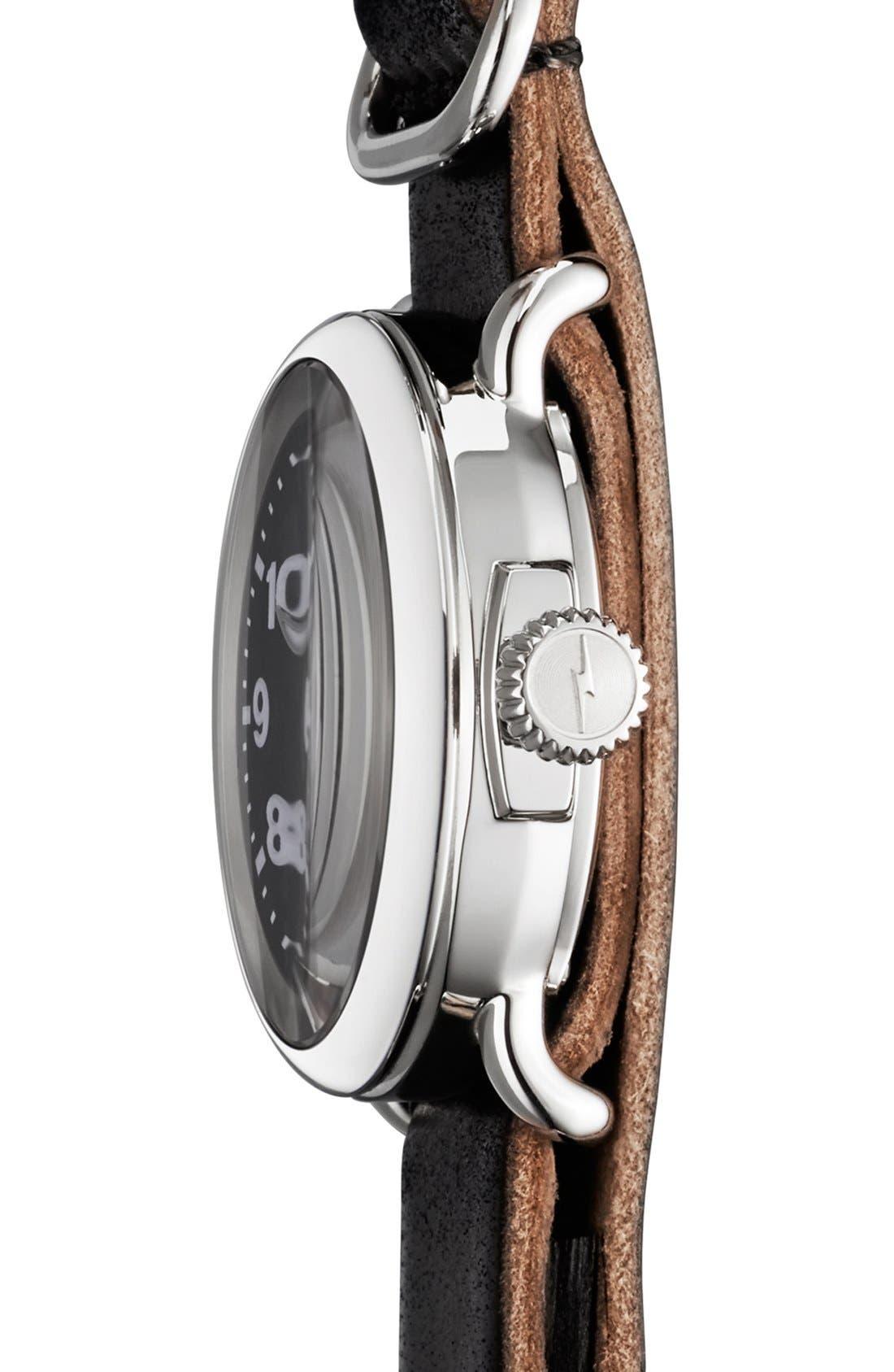 Alternate Image 3  - Shinola 'The Runwell' Leather Strap Watch, 28mm