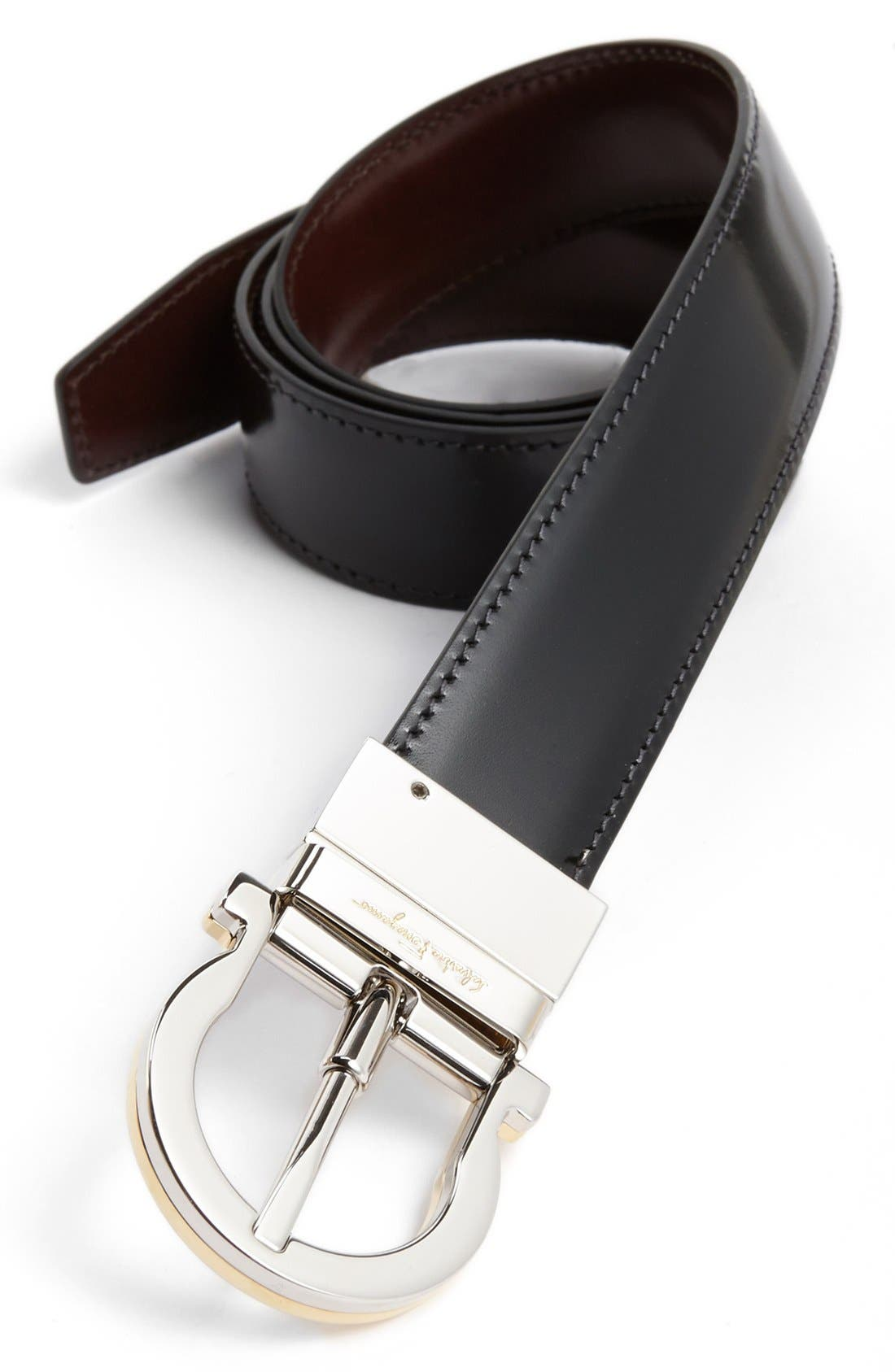 Alternate Image 2  - Salvatore Ferragamo 'Twirl' Reversible Belt