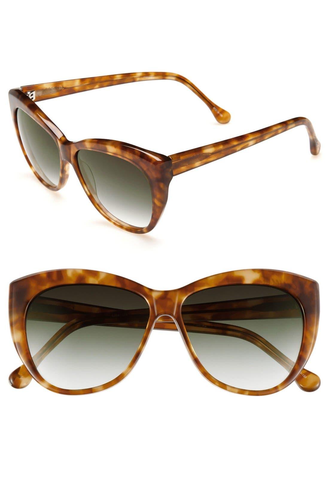 Main Image - Elizabeth and James 'Crescent' 57mm Sunglasses