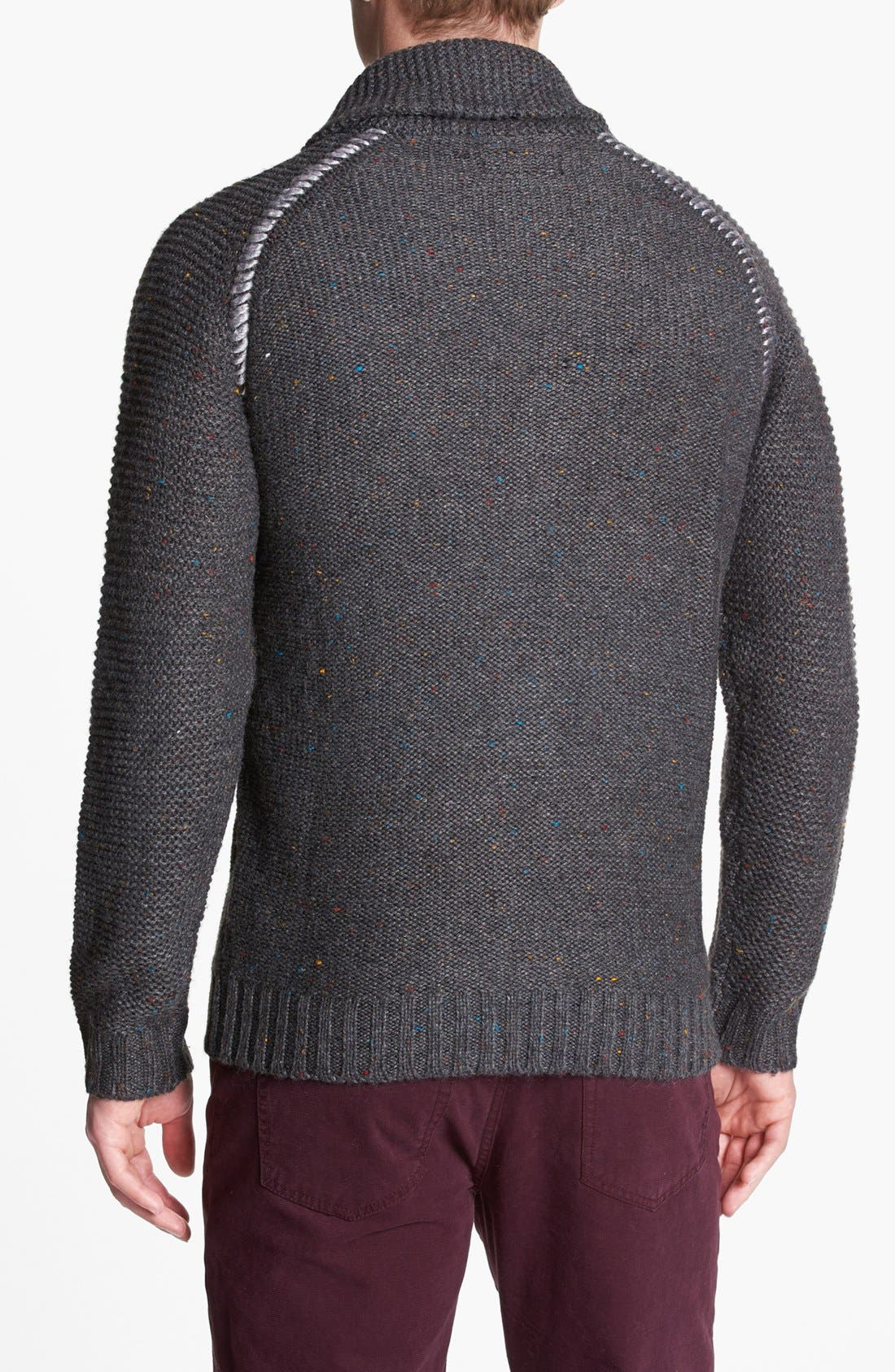 Alternate Image 2  - 55DSL 'Kexico' Shawl Cardigan