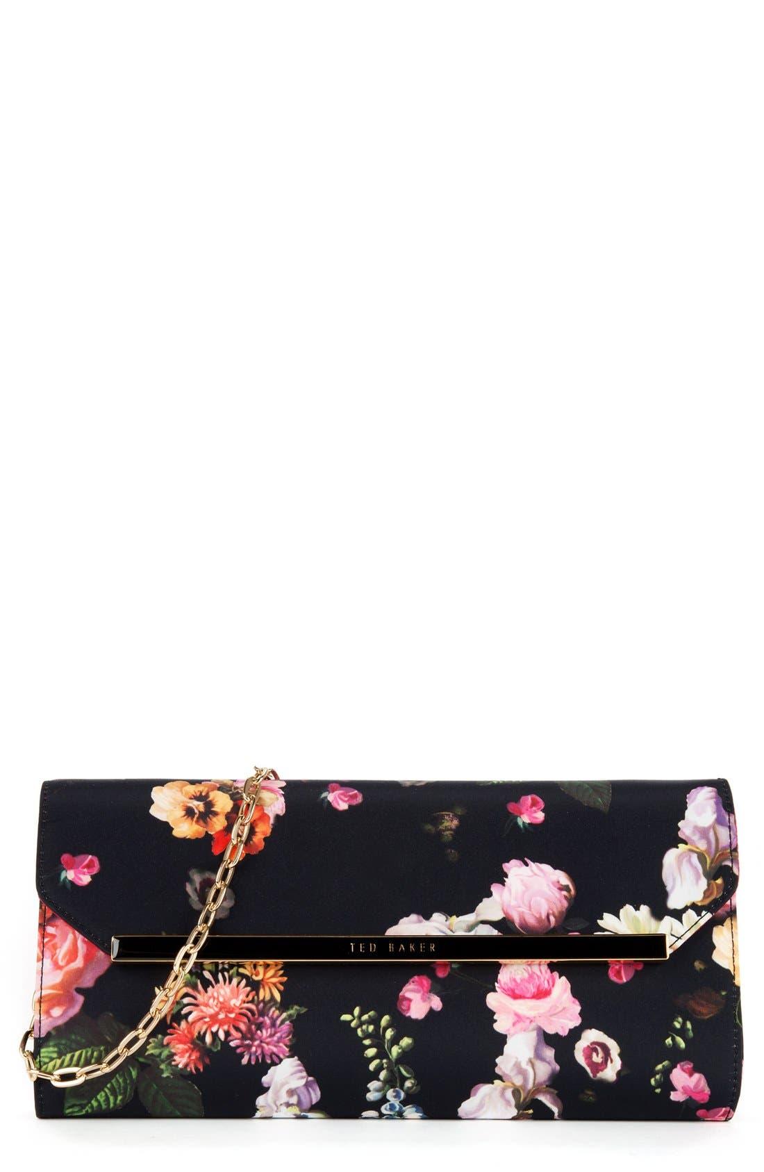 Alternate Image 1 Selected - Ted Baker London Floral Clutch