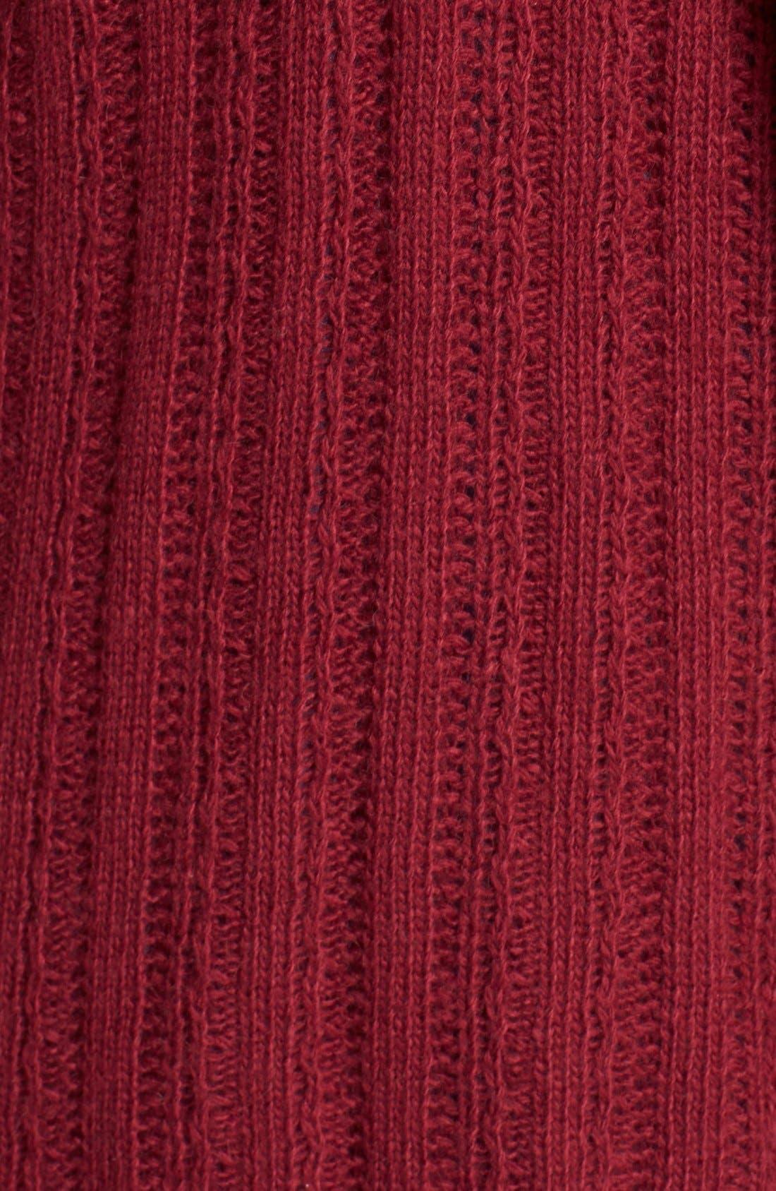 Alternate Image 3  - Lucky Brand 'Venice' Drape Front Sweater (Plus Size)