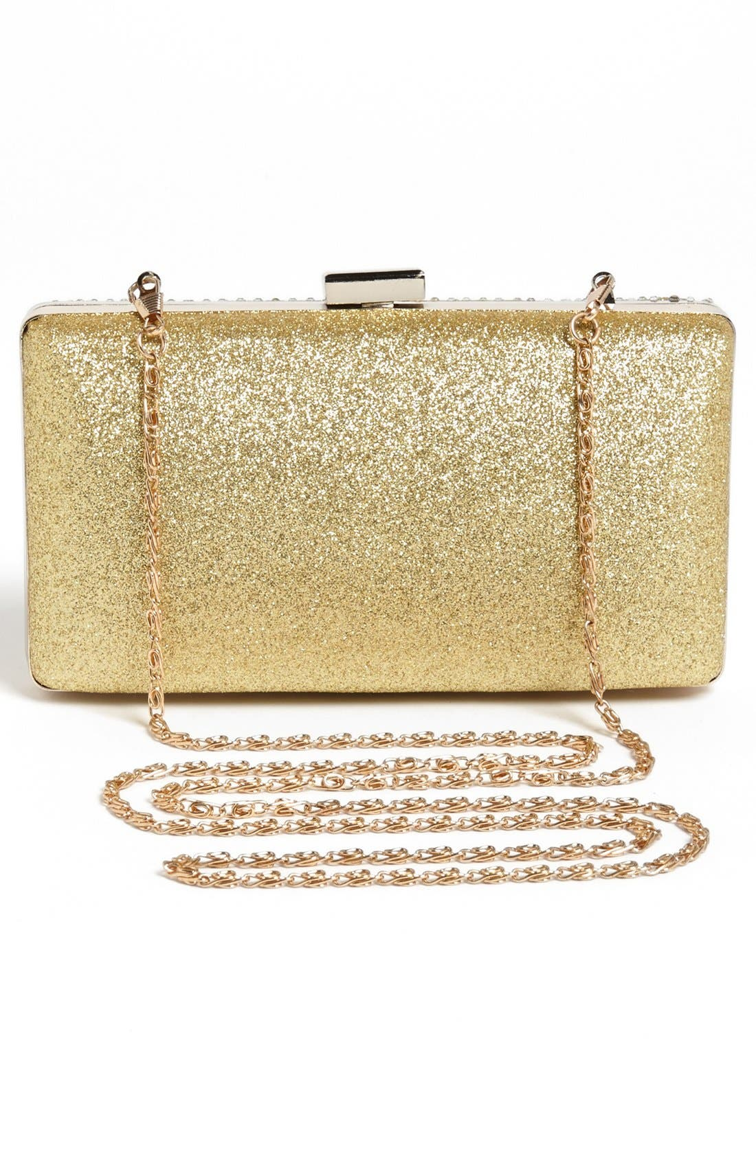 Alternate Image 4  - Tasha Textured Sparkle Clutch