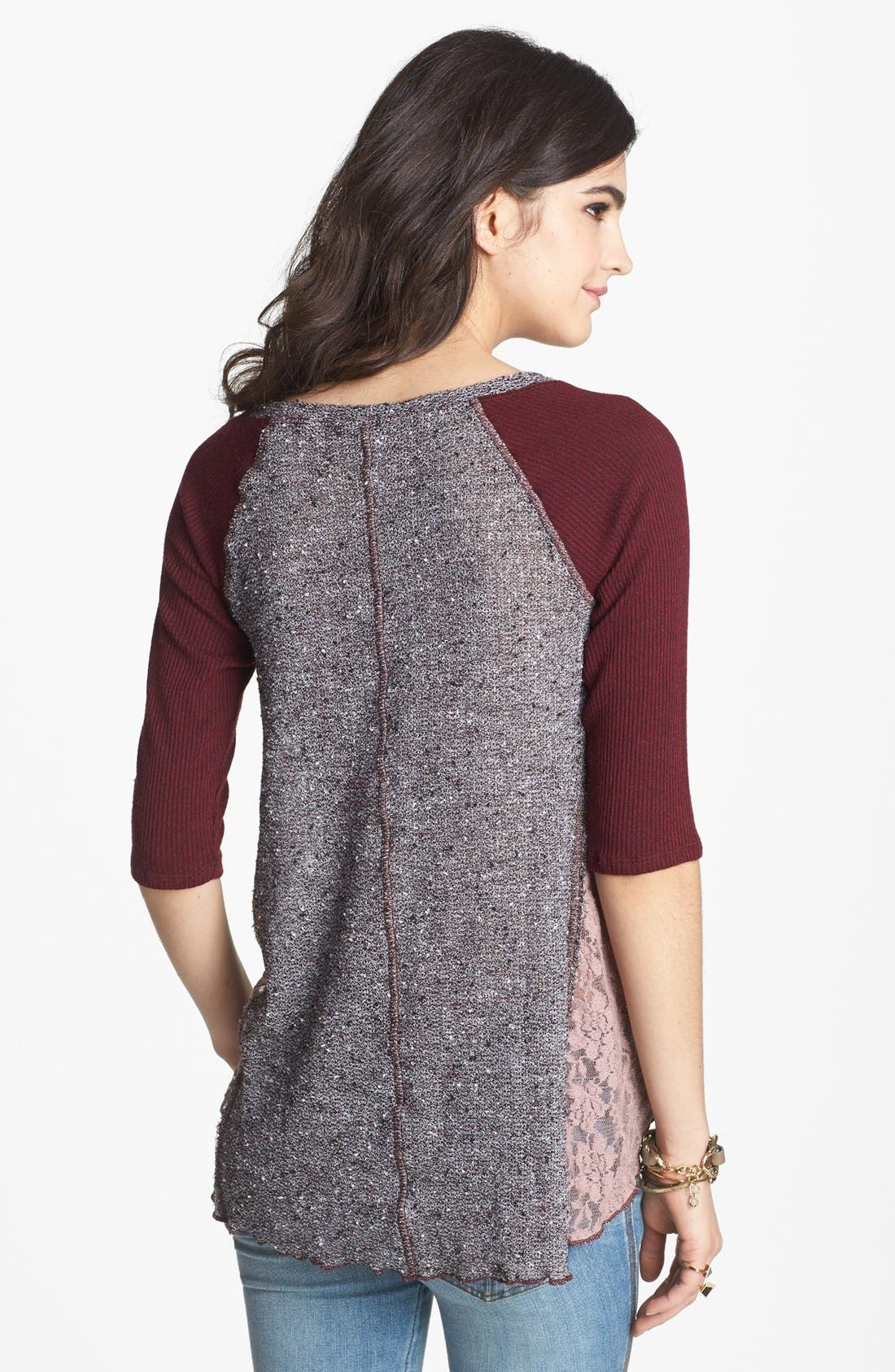 Alternate Image 2  - Free People 'Mix Up' Hacci Top