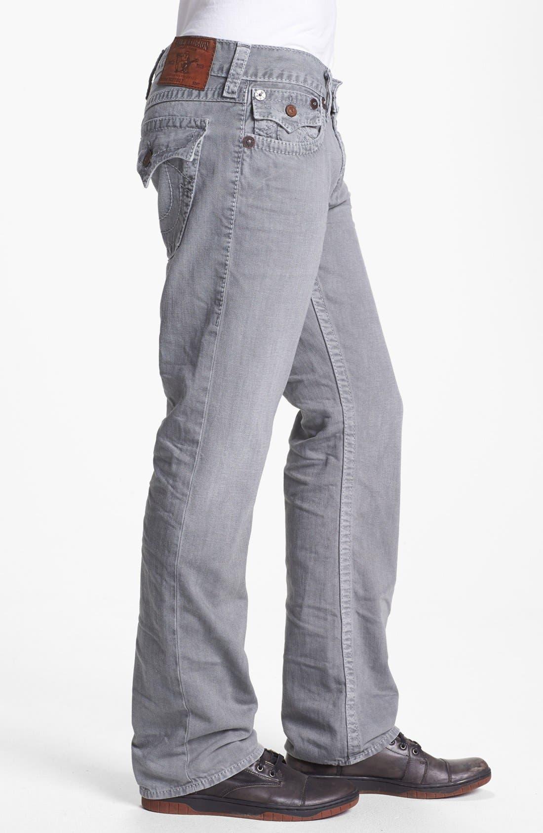 Alternate Image 3  - True Religion Brand Jeans 'Ricky' Straight Leg Jeans (Assd Seal)