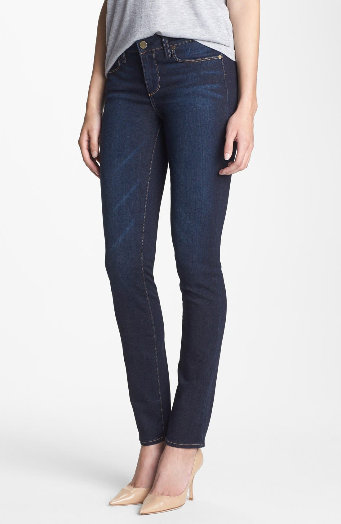 Alternate Image 1 Selected - Paige Denim 'Skyline' Skinny Jeans (Surface)