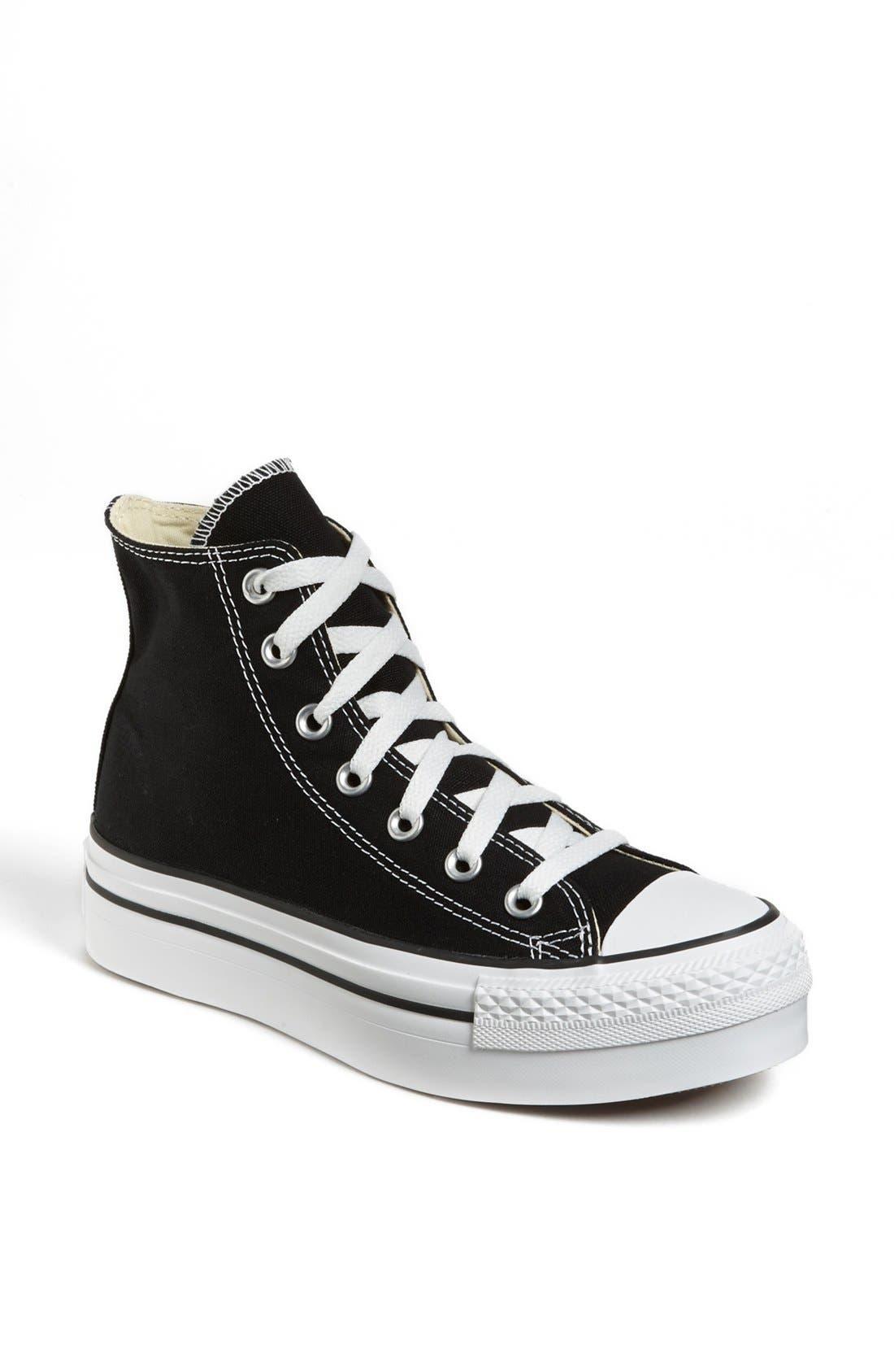 Alternate Image 1 Selected - Converse Chuck Taylor® High Top Platform Sneaker