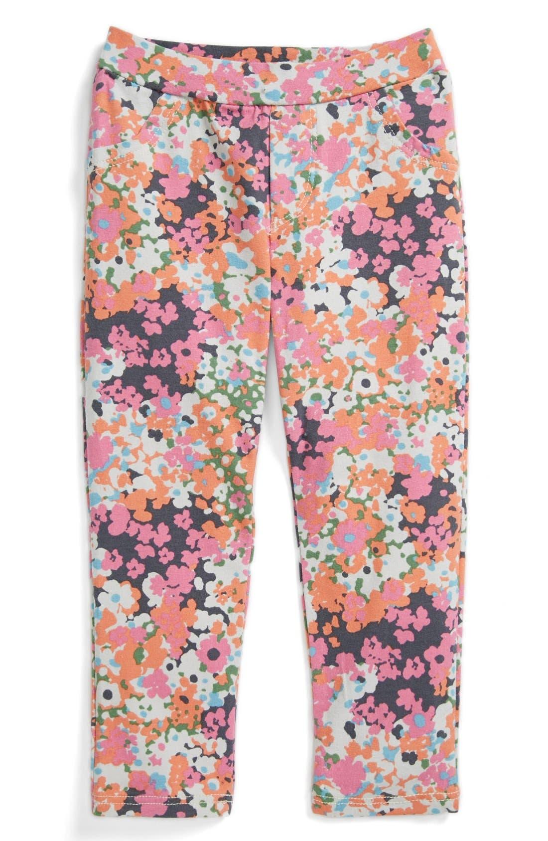 Main Image - TA-EAM Floral Print Leggings (Toddler Girls)
