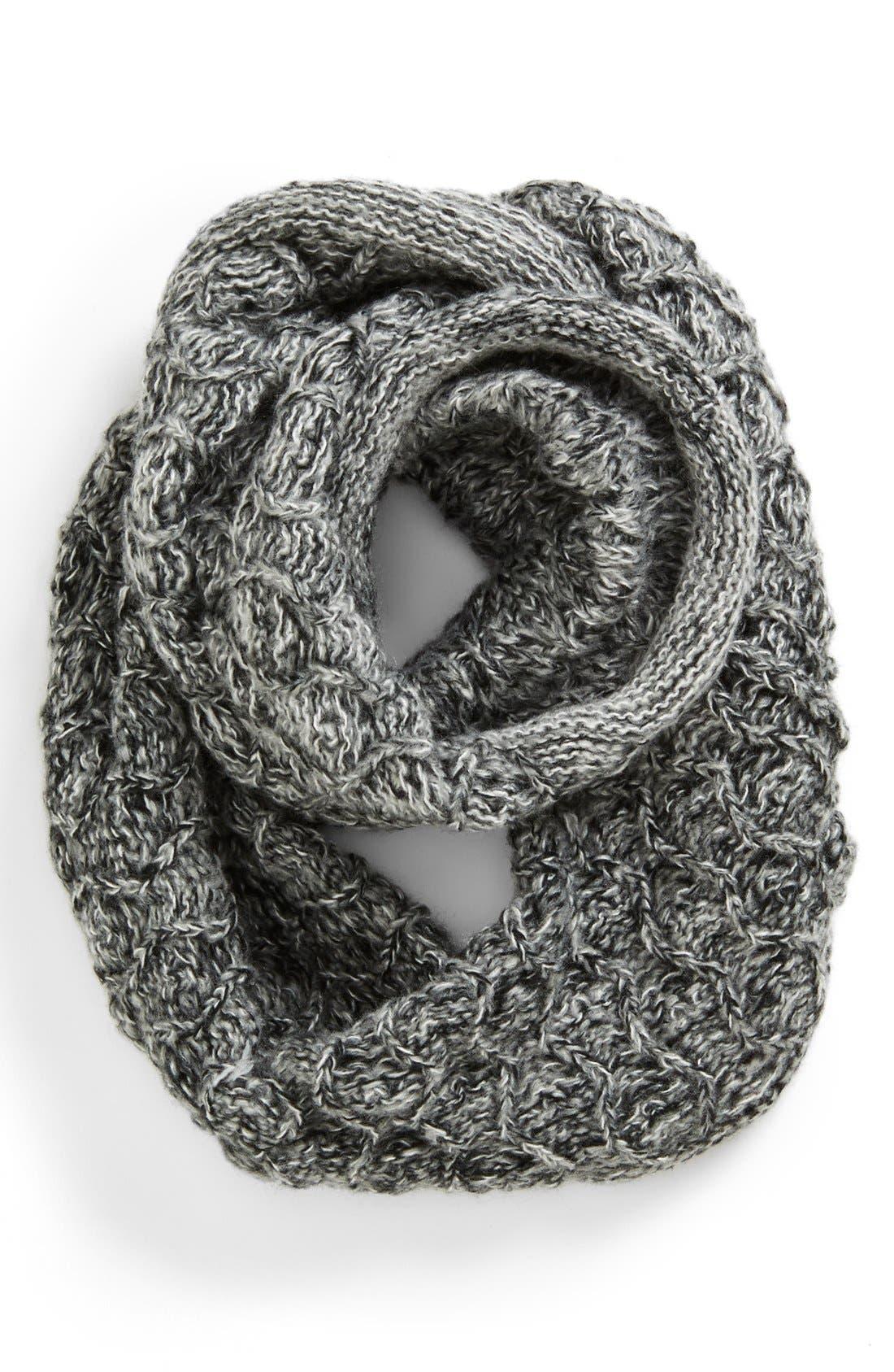 Main Image - San Diego Hat Marled Knit Infinity Scarf