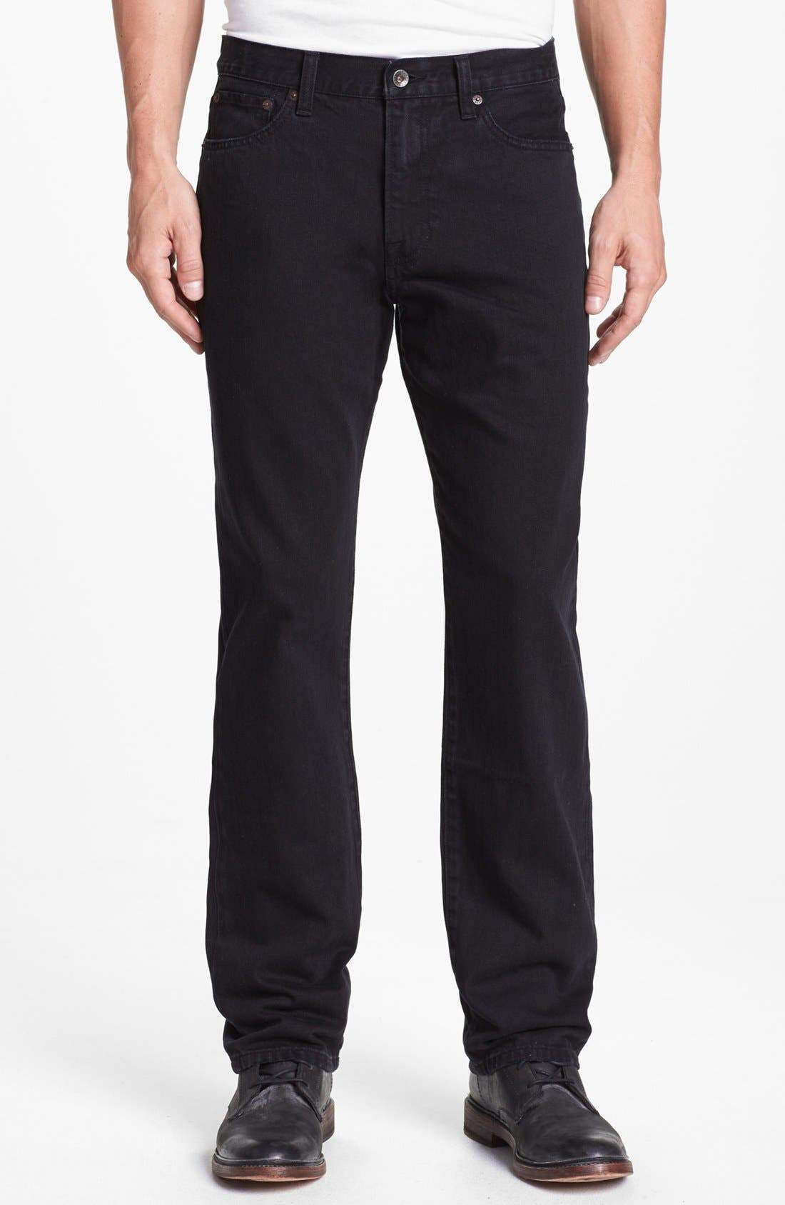 Alternate Image 1 Selected - Lucky Brand '329' Classic Straight Leg Jeans (Logsboro)