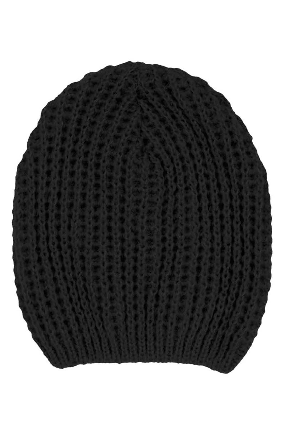 Alternate Image 2  - Topshop 'Cobweb' Knit Beanie