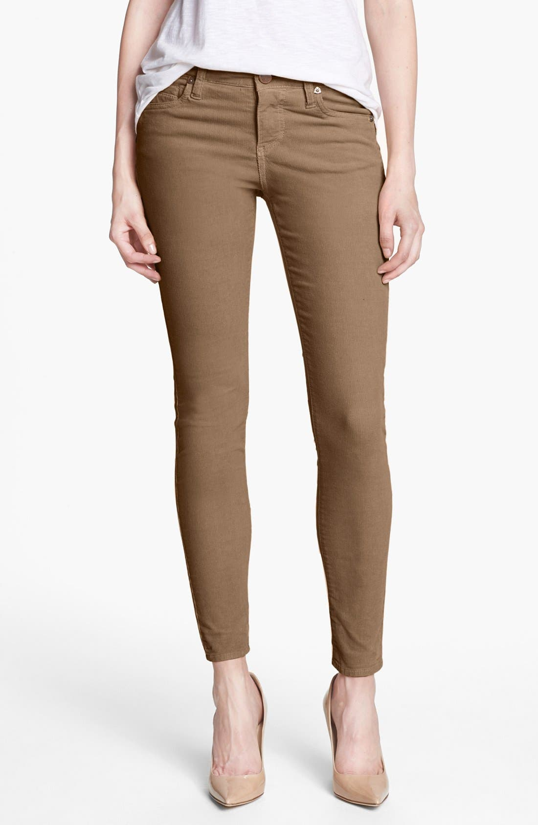 Alternate Image 1 Selected - KUT from the Kloth 'Mia' Corduroy Pants