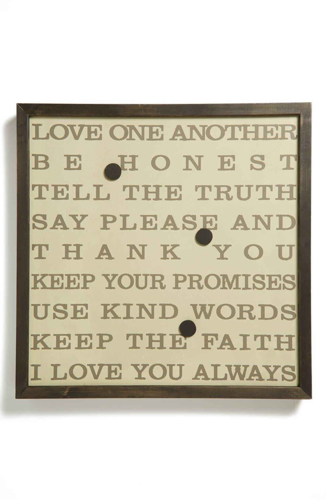 Main Image - Petal Lane Love Art Magnetic Board