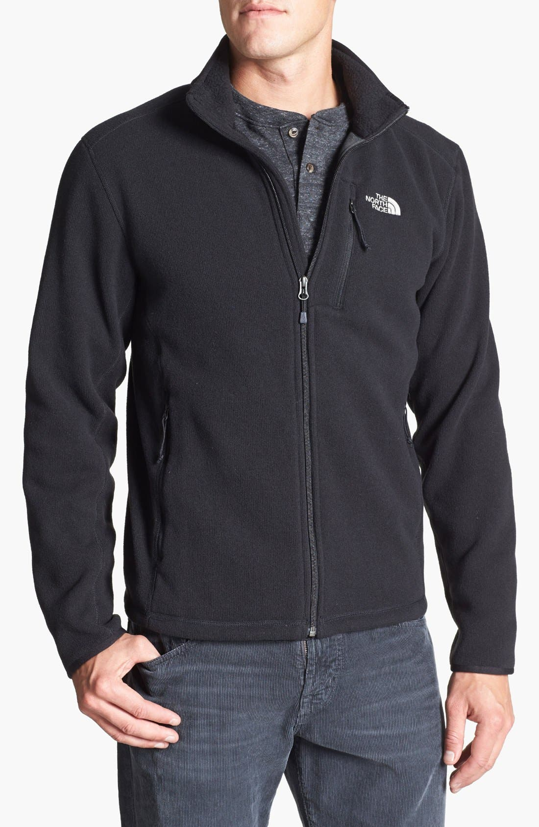Main Image - The North Face 'Gordon Lyons' Sweater Knit Fleece Jacket