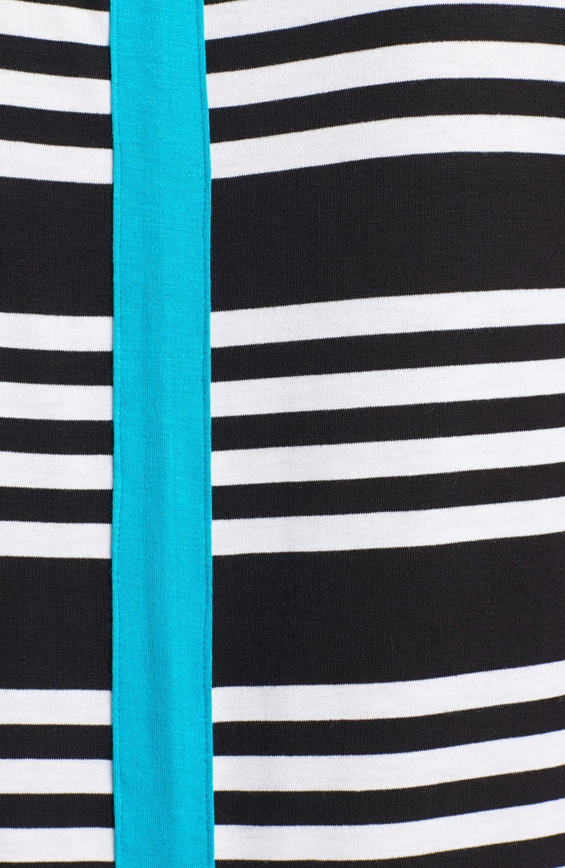Alternate Image 3  - Olivia Moon Contrast Trim Stripe Tank (Petite)