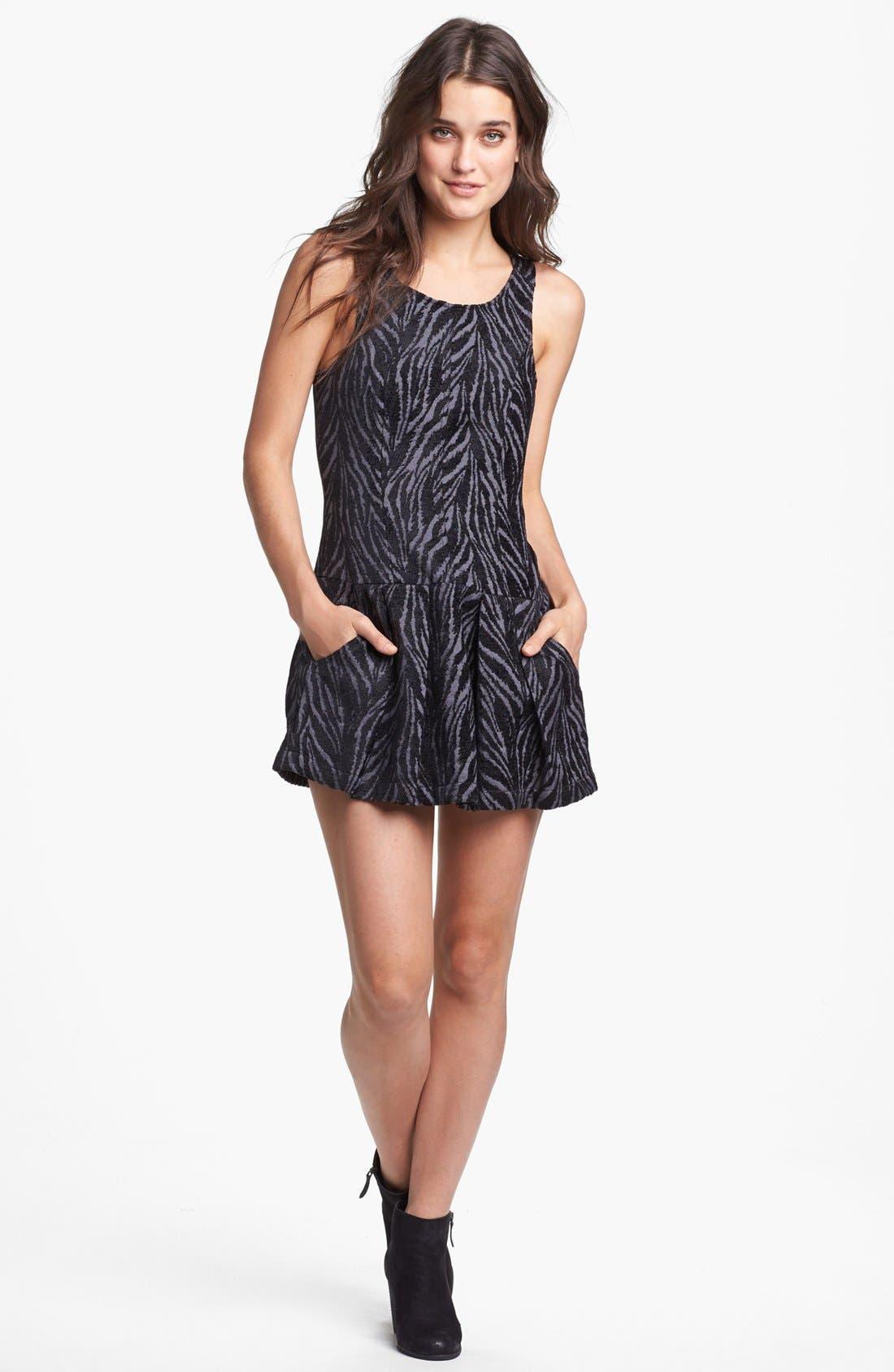 Main Image - Free People Print Drop Waist Dress