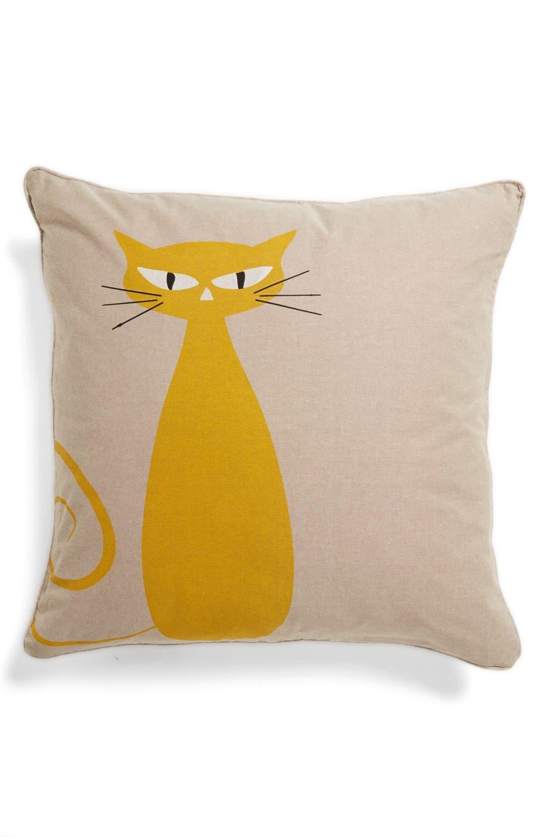 Alternate Image 1 Selected - Levtex 'Standing Cat' Pillow