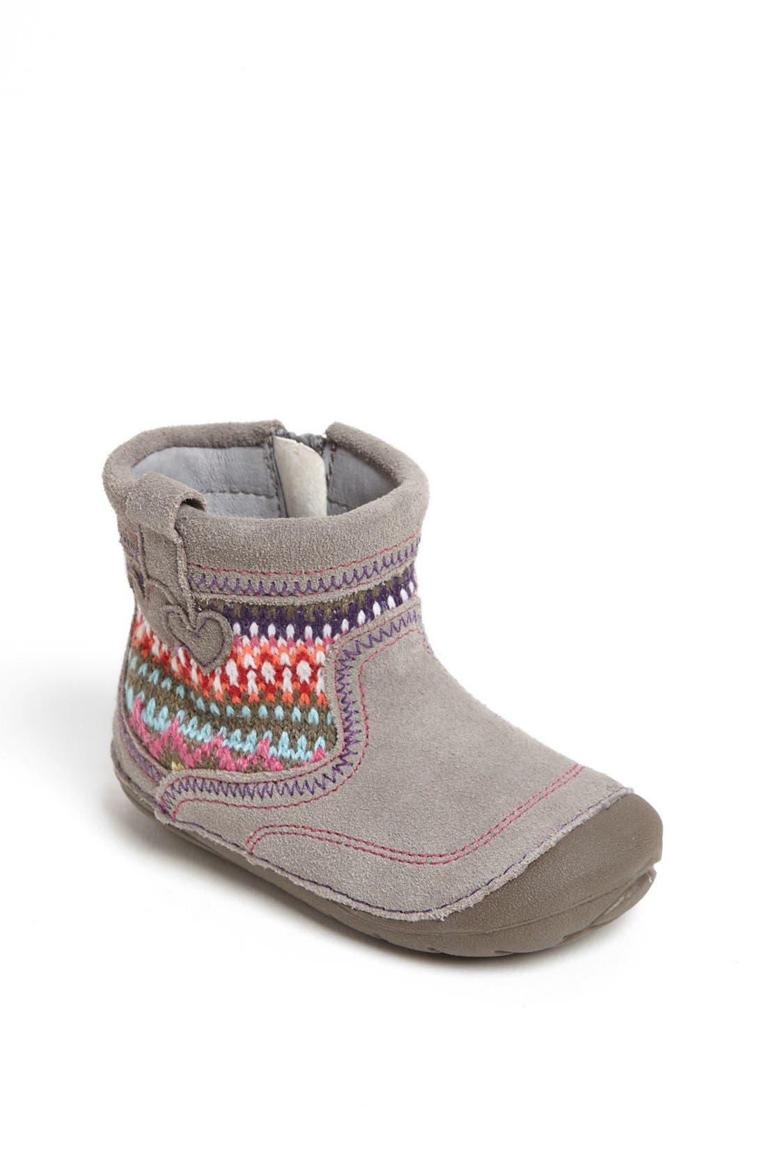 Alternate Image 1 Selected - Stride Rite 'SRT Ainsley' Boot (Baby & Walker)