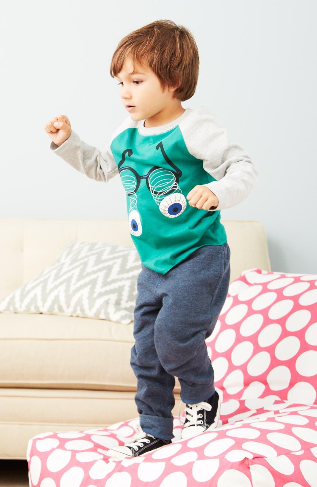 Alternate Image 1 Selected - Tucker + Tate T-Shirt & Sweatpants (Toddler Boys)
