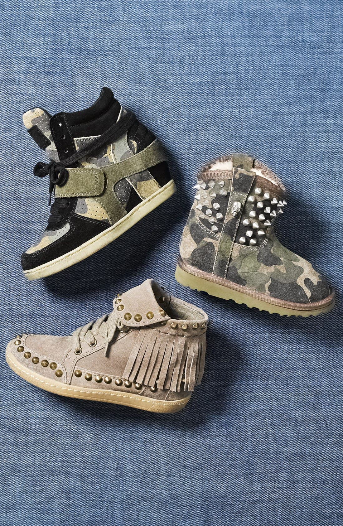 Alternate Image 5  - Ash 'You' Studded Camo Boot (Toddler, Little Kid & Big Kid)