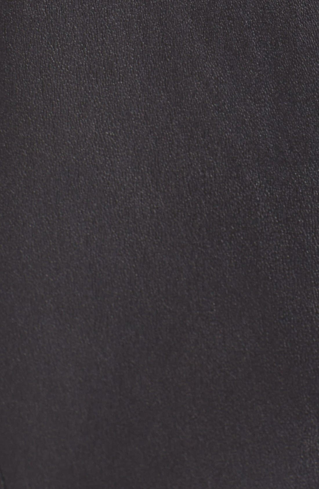 Alternate Image 3  - B and K by BUCHANAN & KANG Leather Bodice Dress