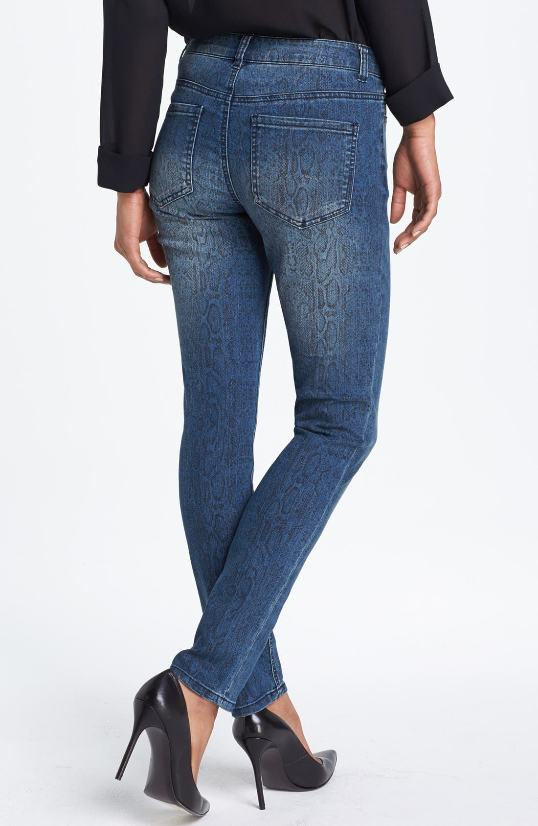 Alternate Image 2  - Liverpool Jeans Company 'Abby' Print Skinny Jeans