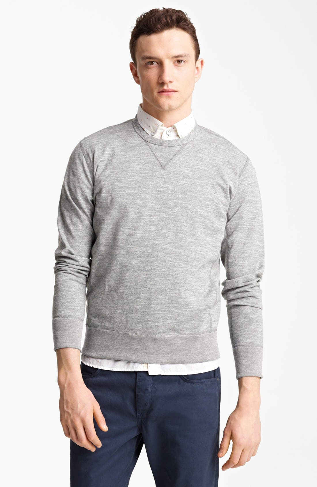 Main Image - rag & bone Crewneck Sweatshirt