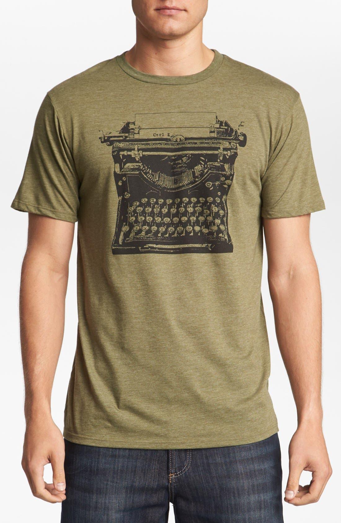 Alternate Image 1 Selected - HEADLINE SHIRTS 'Typewriter Ctrl Z' T-Shirt