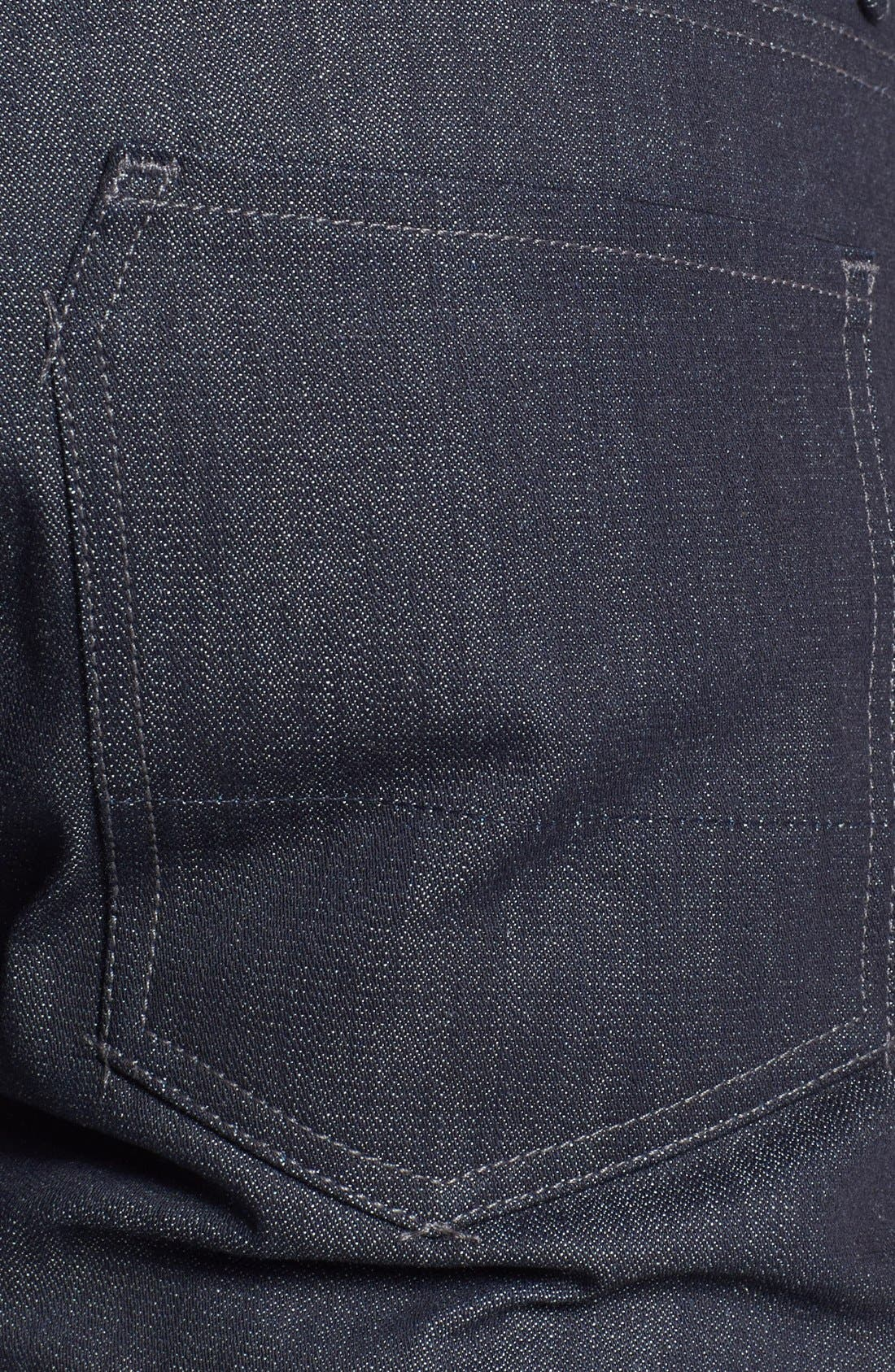 Alternate Image 4  - Raleigh Denim 'Martin' Skinny Fit Selvedge Jeans (Raw)