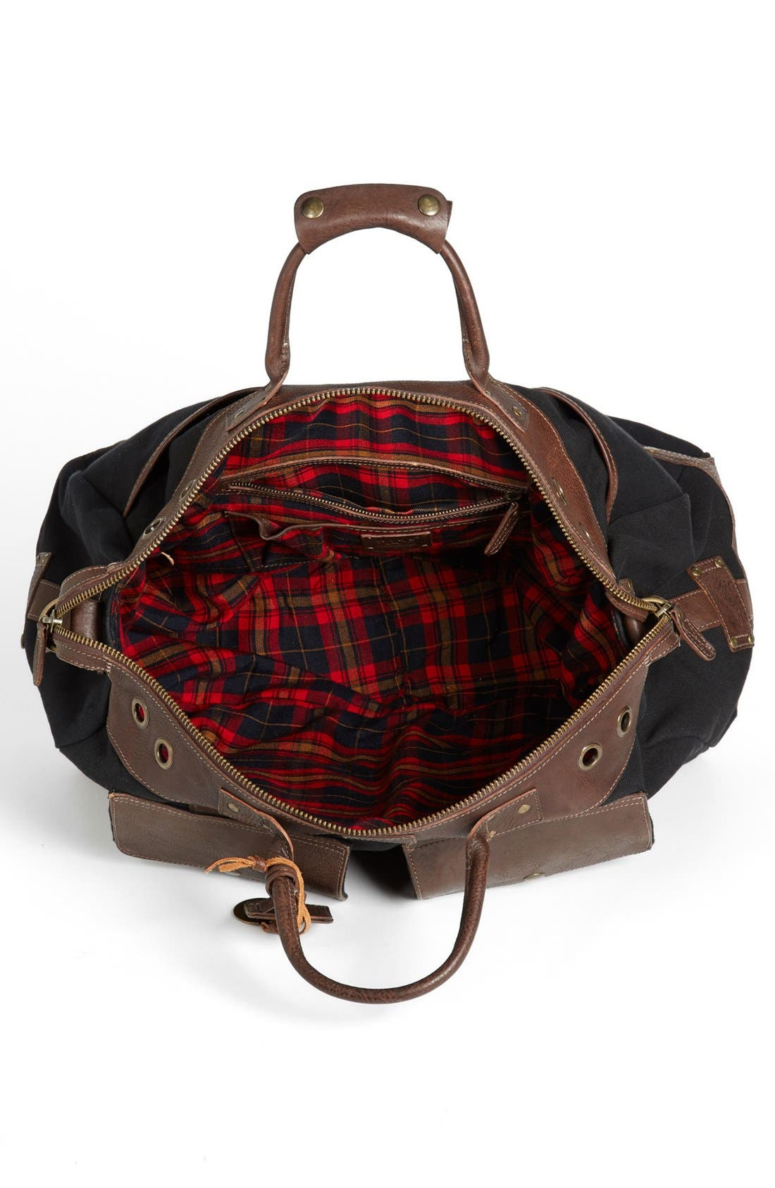 Alternate Image 4  - Will Leather Goods Traveler Duffel Bag