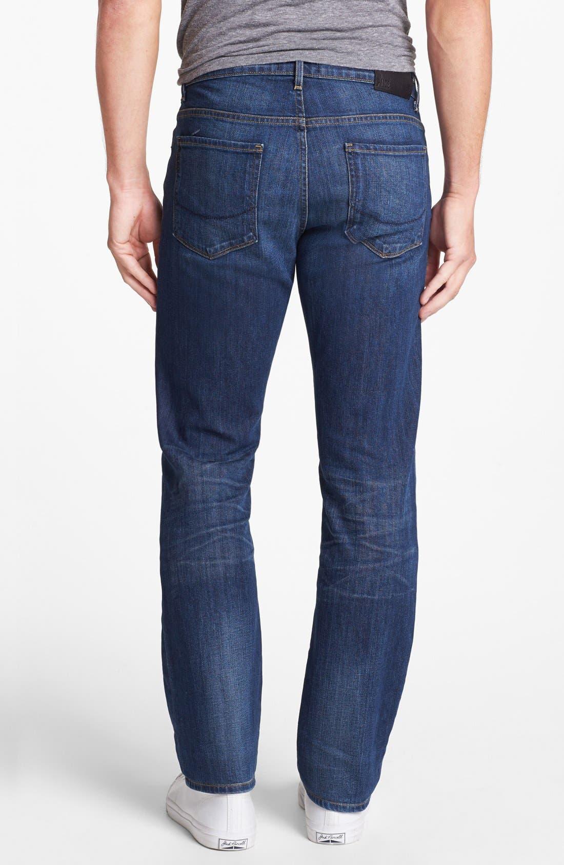 Alternate Image 1 Selected - PAIGE 'Normandie' Slim Fit Jeans (Knuckle)