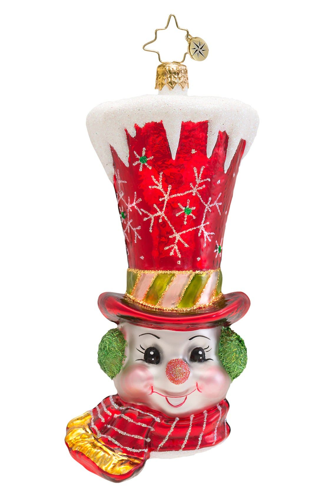 Main Image - Christopher Radko 'Quite a Hat' Ornament