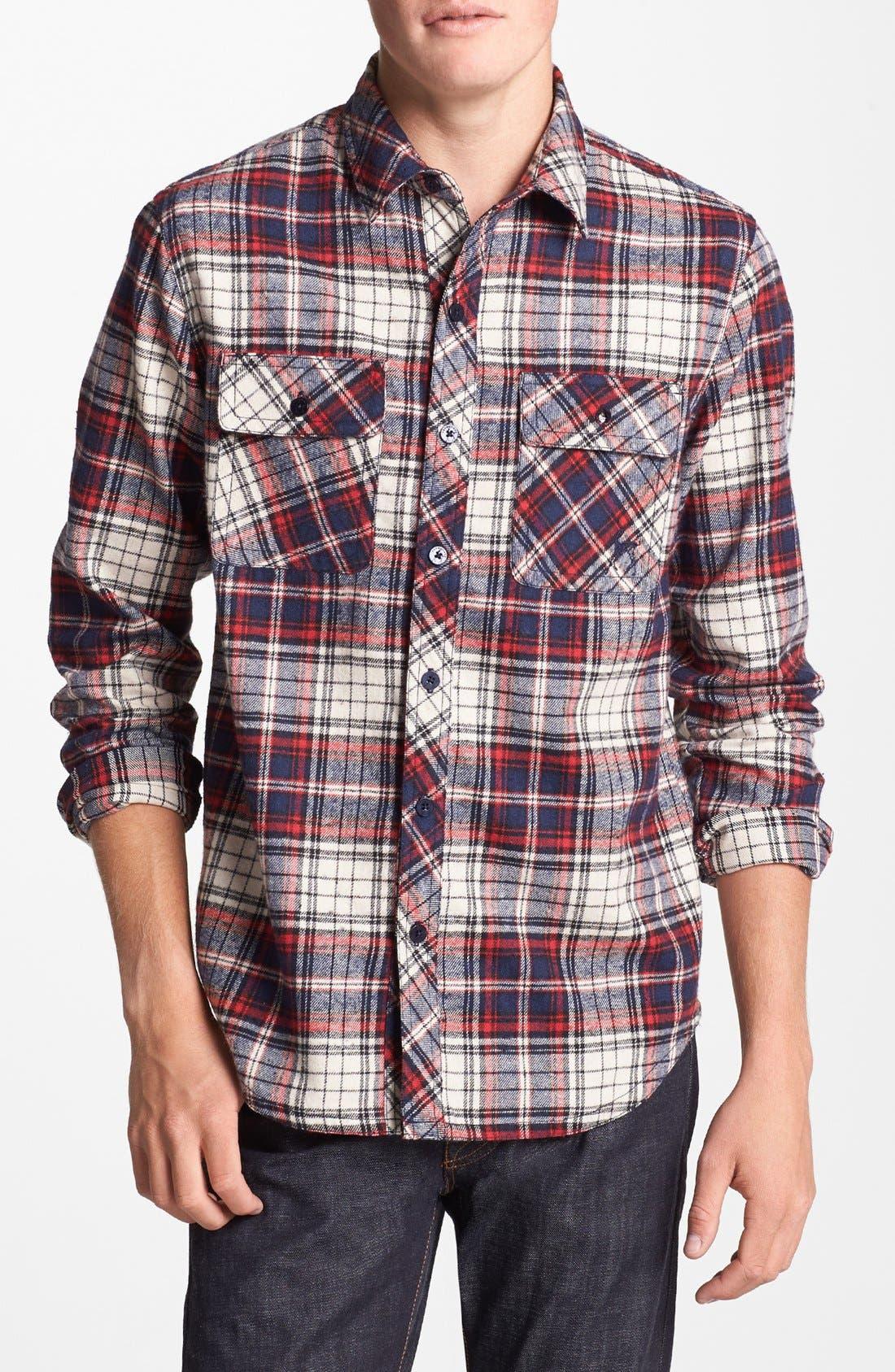 Main Image - Kane & Unke 'Darin's Fave' Plaid Flannel Shirt