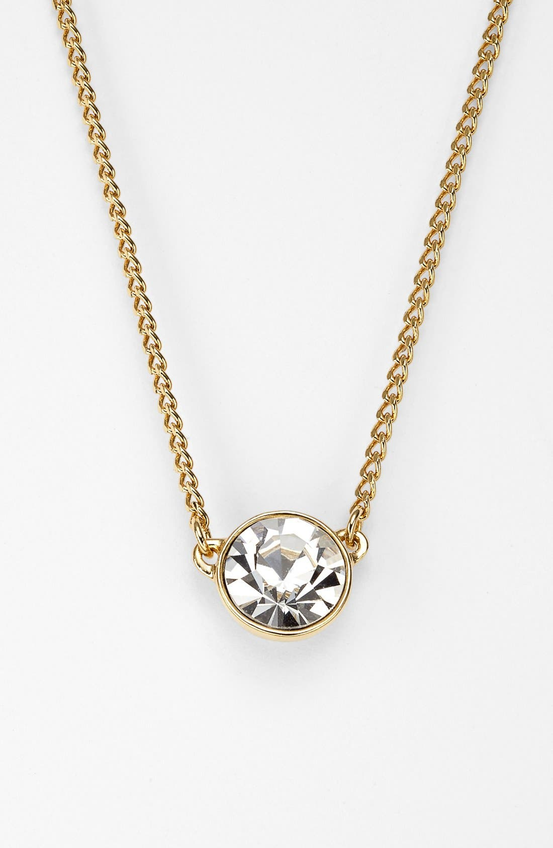 Alternate Image 1 Selected - Givenchy Crystal Pendant Necklace