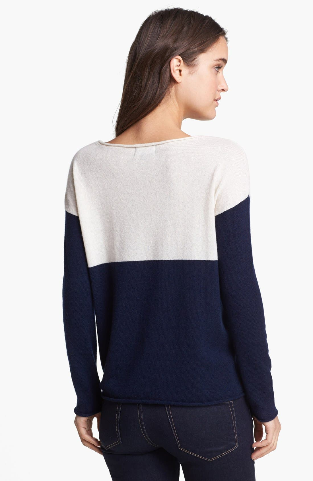 Alternate Image 2  - Splendid Colorblock Sweater