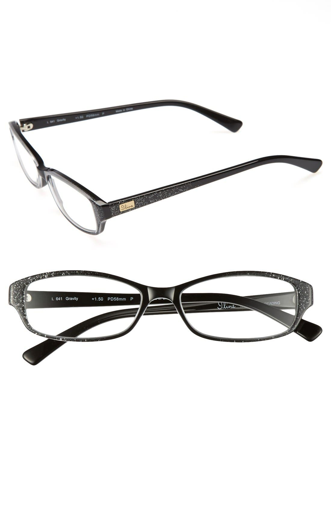 Alternate Image 1 Selected - I Line Eyewear 'Gravity' 58mm Reading Glasses (2 for $88)