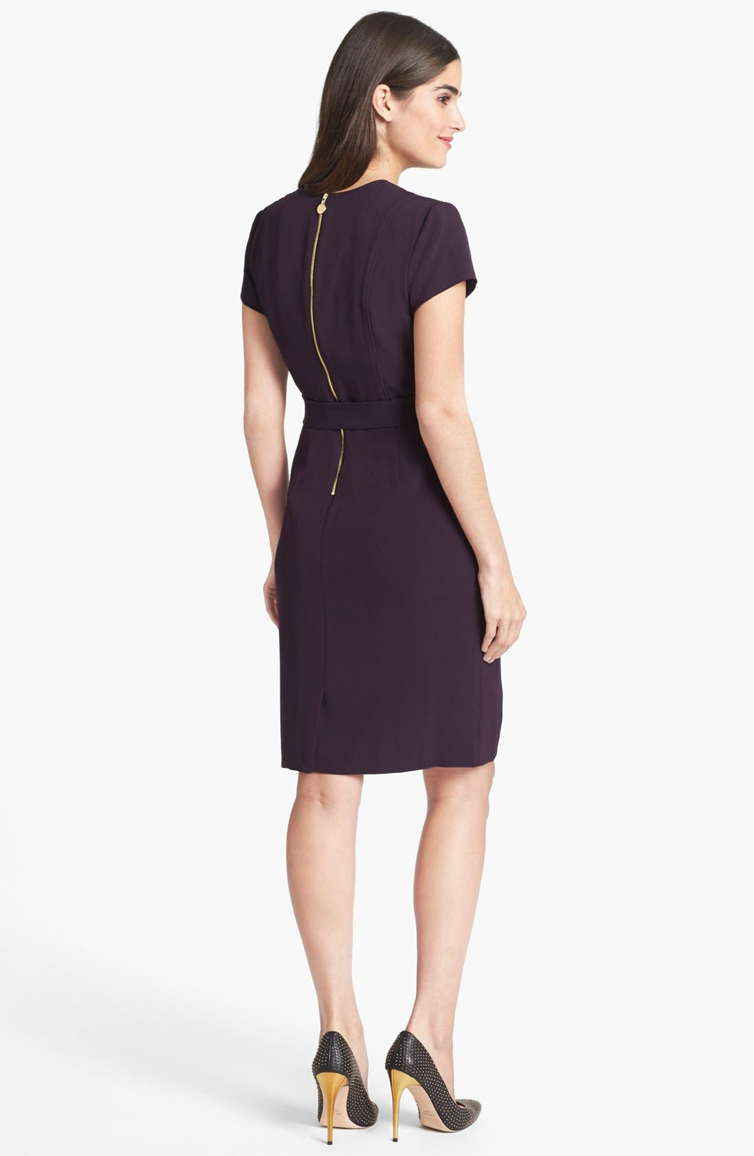 Alternate Image 2  - Ellen Tracy Faux Wrap Dress