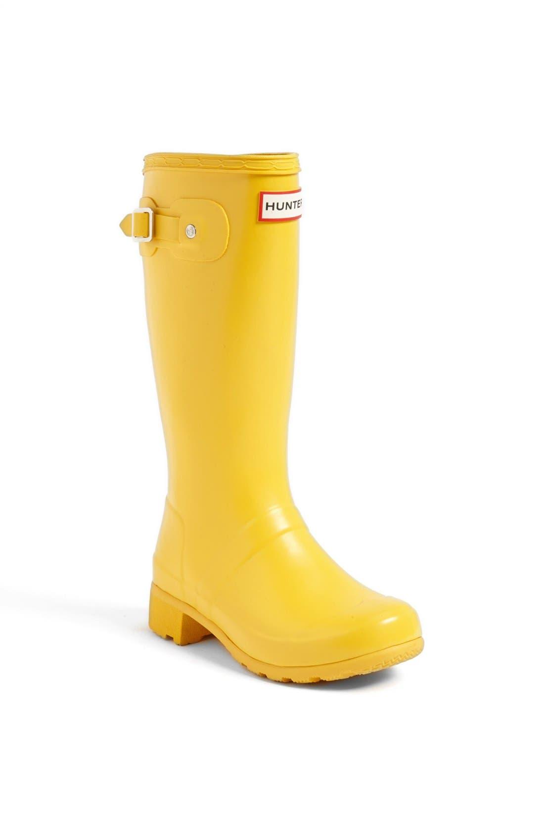 Main Image - Hunter 'Tour' Packable Rain Boot (Toddler & Little Kid)
