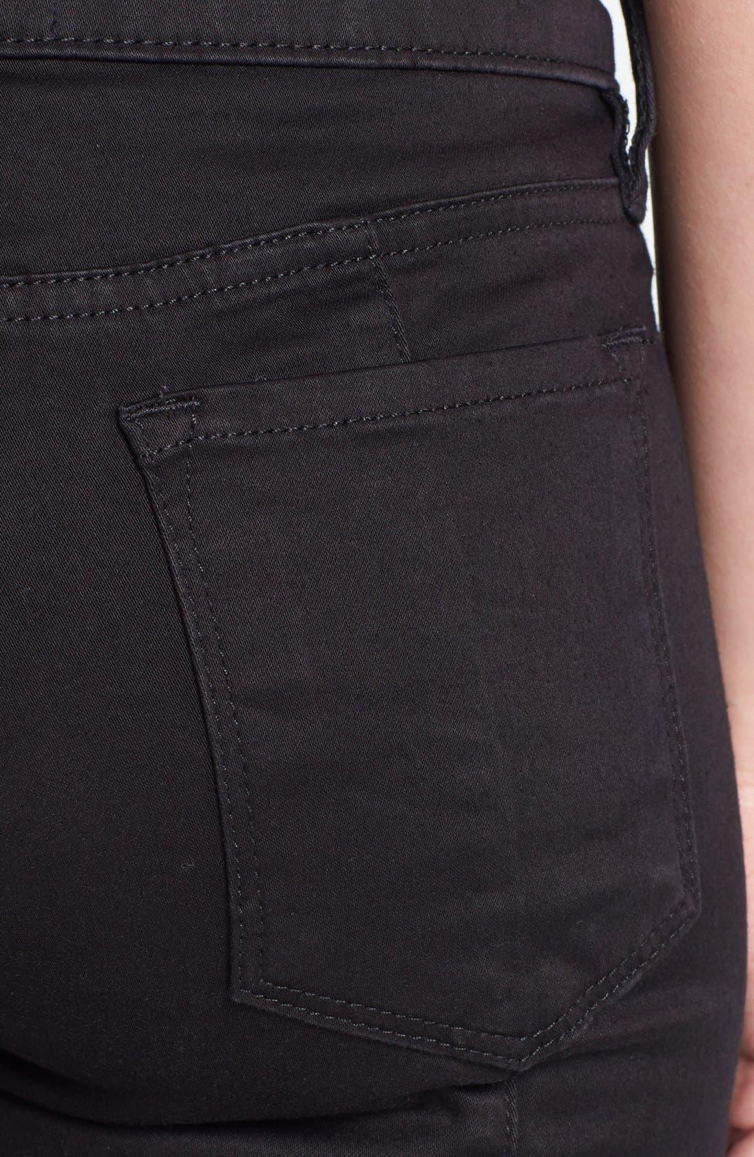 Alternate Image 3  - Frame Denim 'Le Luxe Biker' Skinny Jeans (Vian)