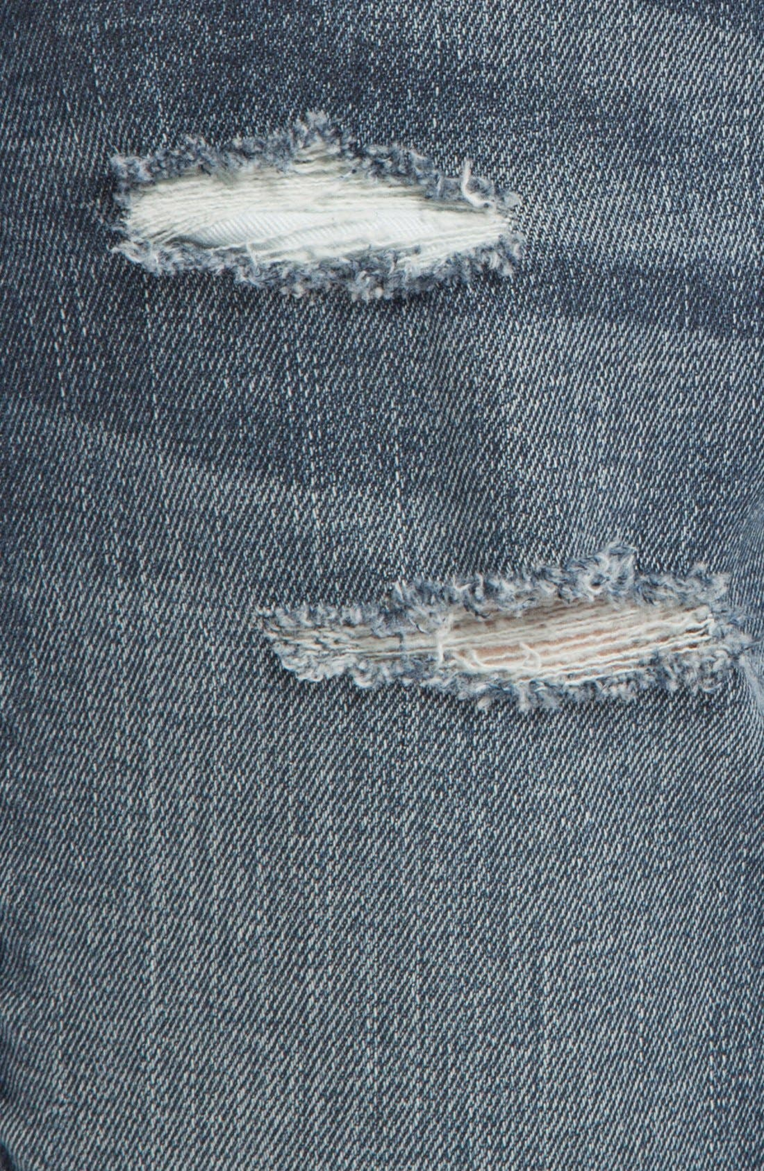 Alternate Image 3  - maje 'Daulnay' Destructed Boyfriend Jeans