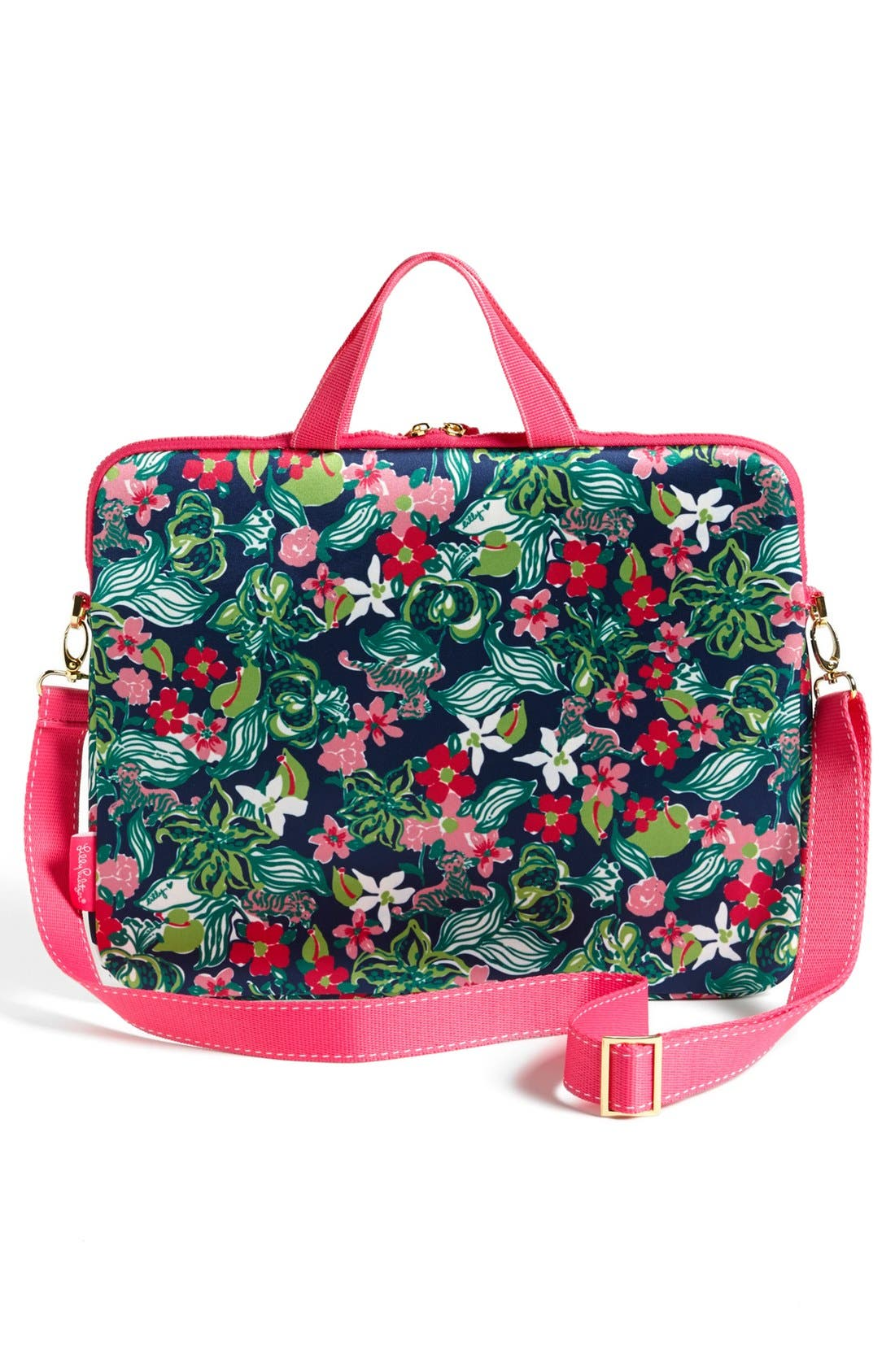 Alternate Image 4  - Lilly Pulitzer® 'Tiger Lilly' Laptop Tote