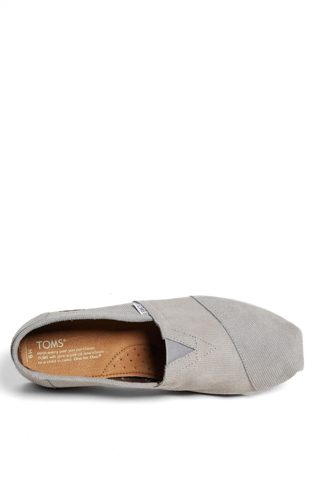 Alternate Image 3  - TOMS 'Movember Classic' Slip-On (Men) (Limited Edition - Movember)