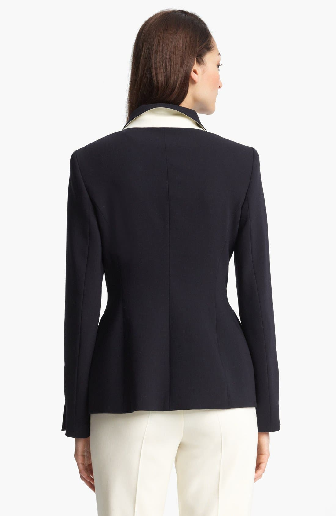 Alternate Image 2  - ESCADA 'Columbo' Double Breasted Stretch Wool Jacket