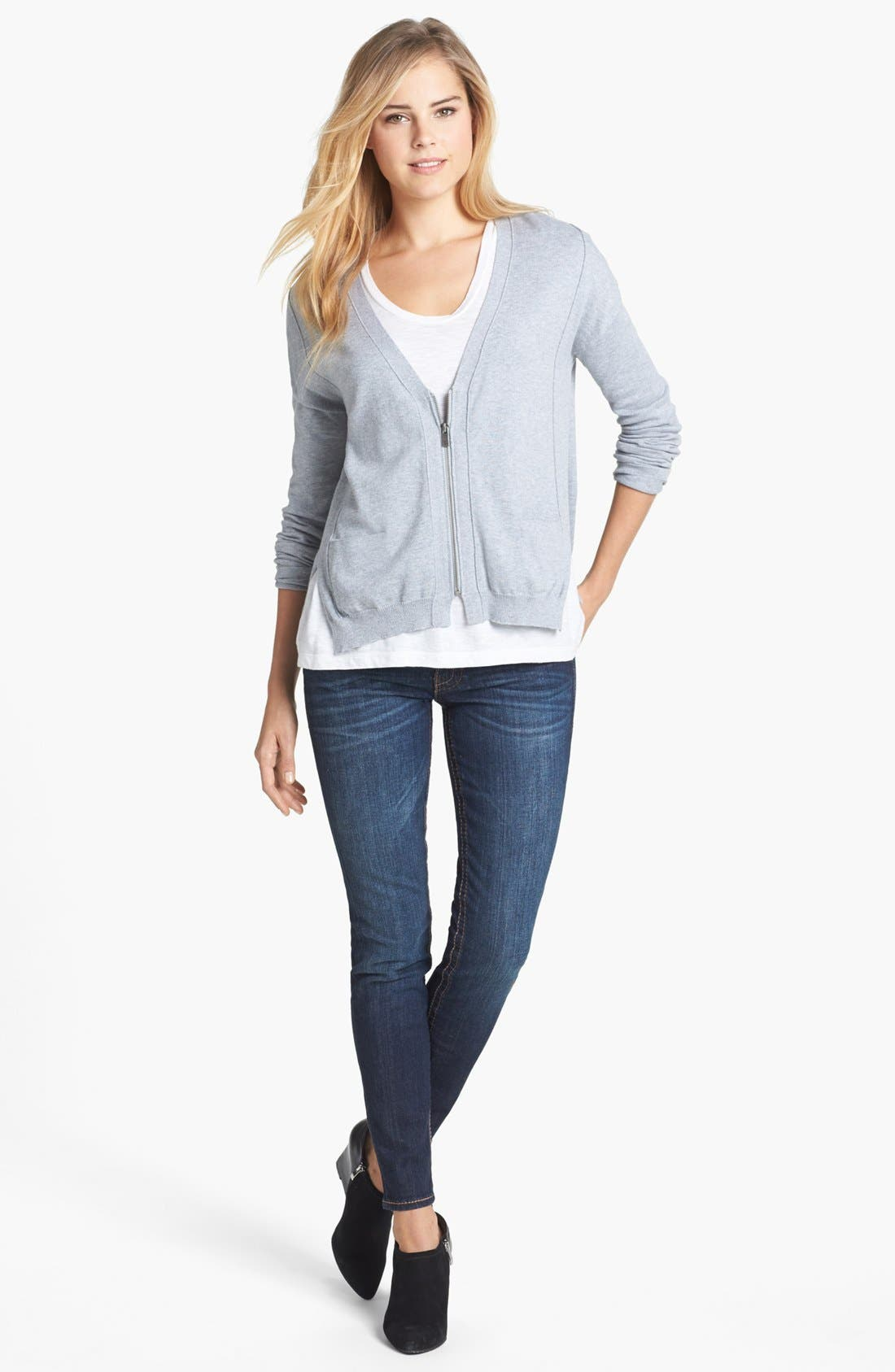 Alternate Image 4  - KUT from the Kloth 'Kate' Skinny Jeans (Cared)