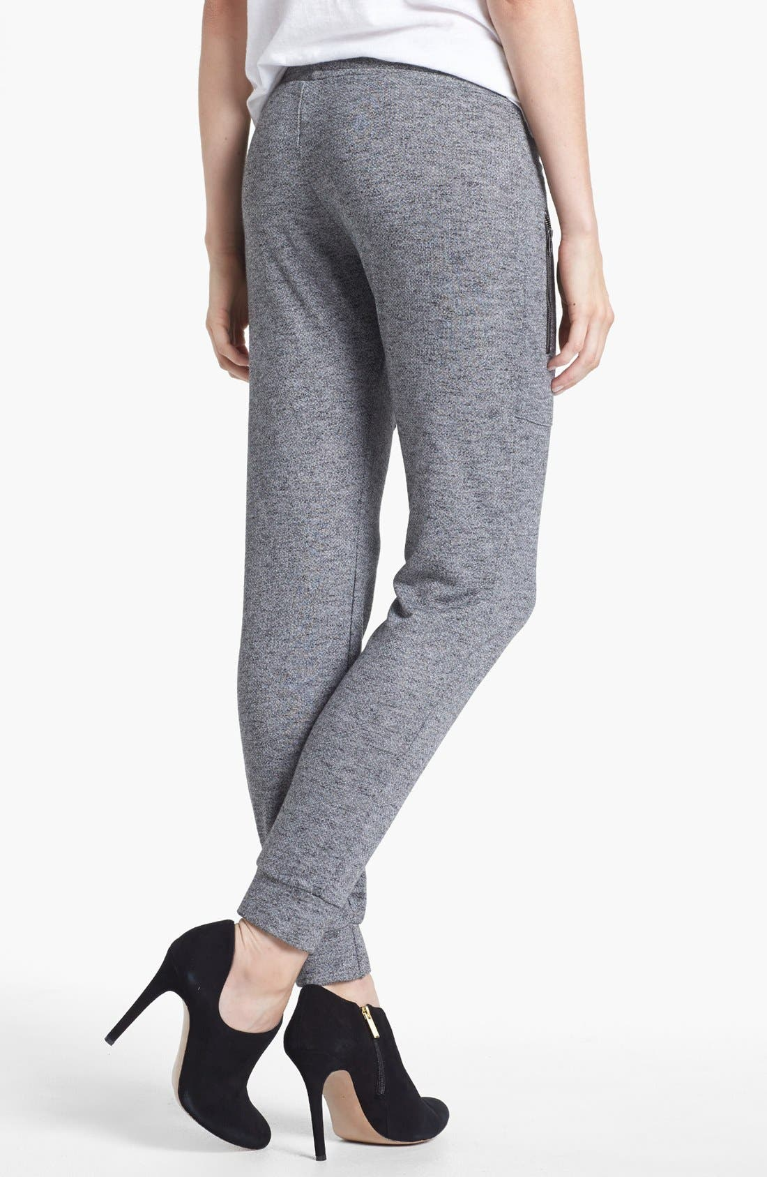 Alternate Image 2  - Go Make Noise Zip Detail Sweatpants