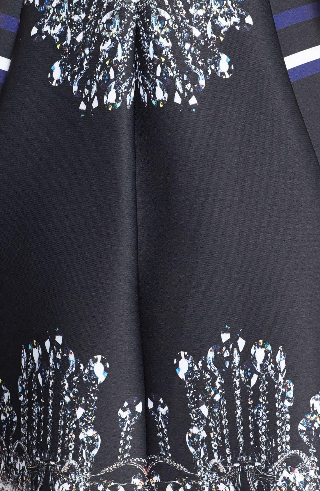 Alternate Image 3  - Clover Canyon 'Russian Enamel' Scuba Fit & Flare Dress