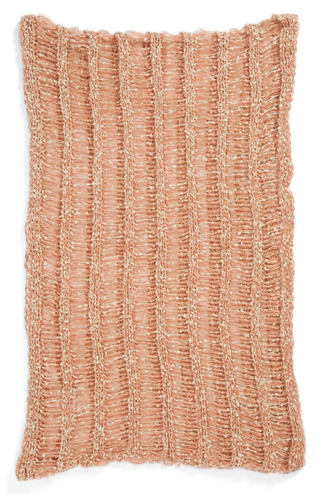 Alternate Image 2  - David & Young Chunky Open Weave Infinity Scarf (Juniors) (Online Only)