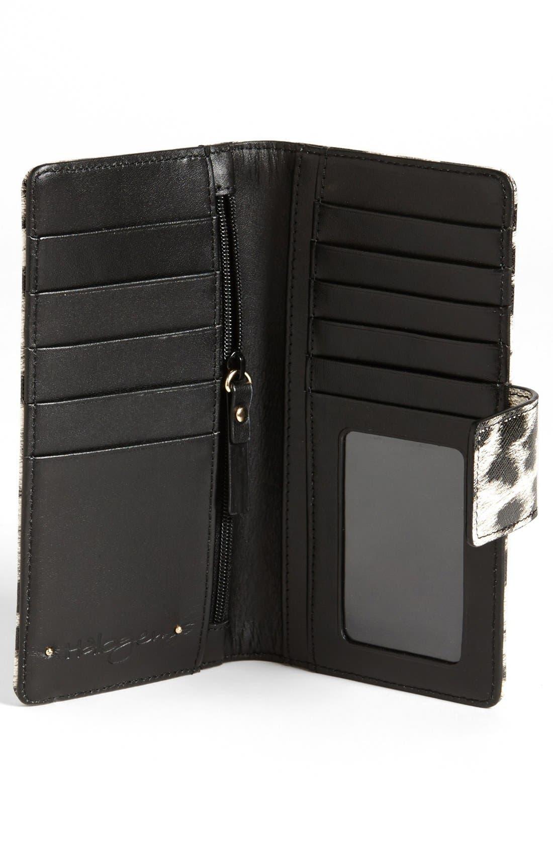 Alternate Image 2  - Halogen® 'Victoria' Leather Wallet