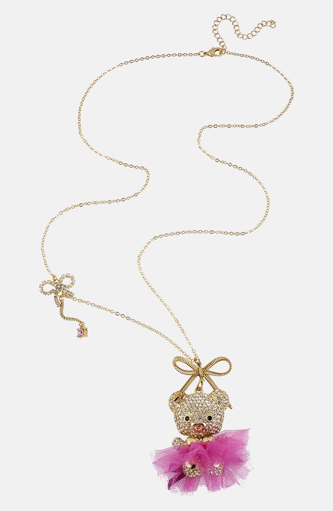 Alternate Image 2  - Betsey Johnson 'Terrific Tutus' Long Pendant Necklace